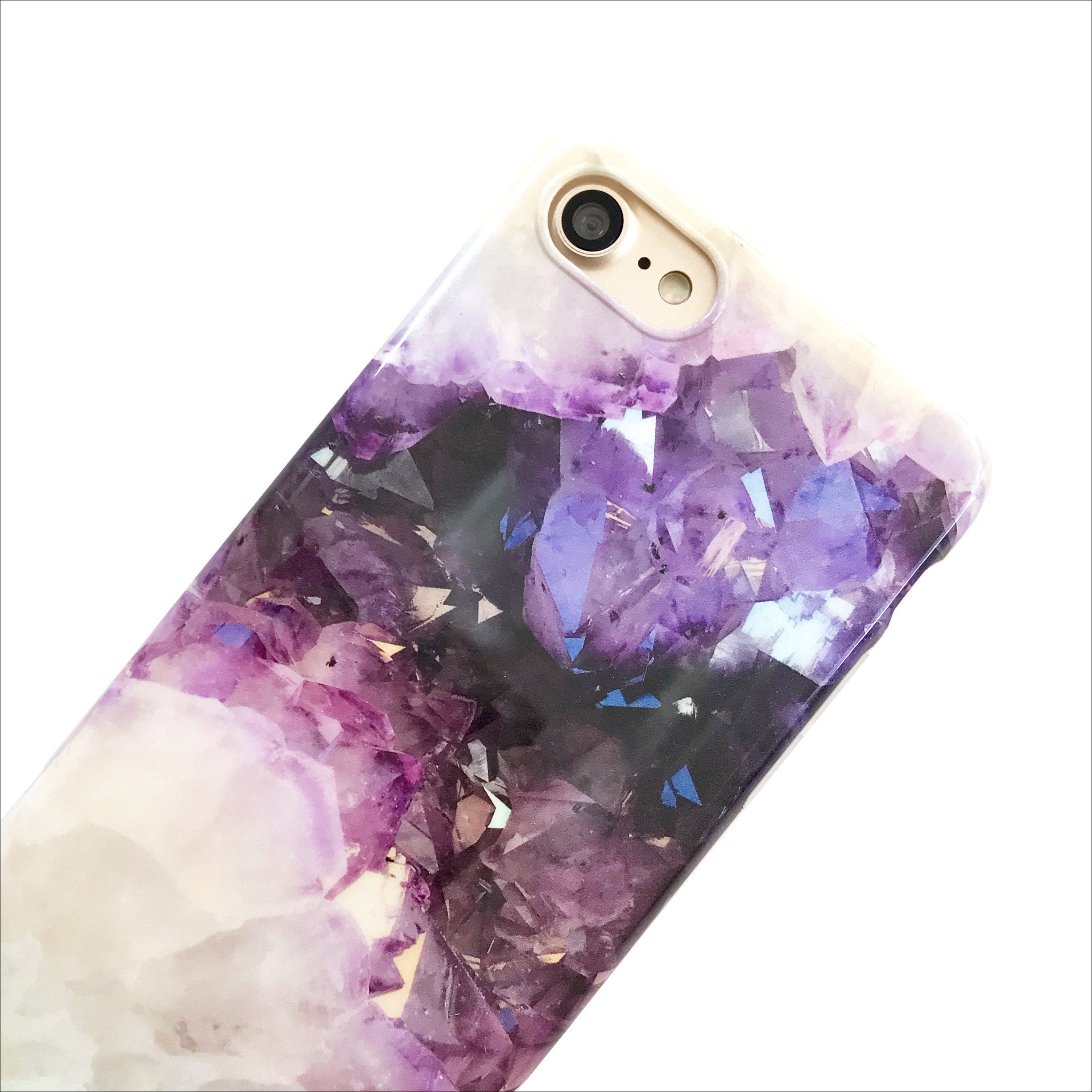 the latest 38cc3 81e1a Amethyst Crystal Phone Case in 2019 | Products | Diy phone case ...