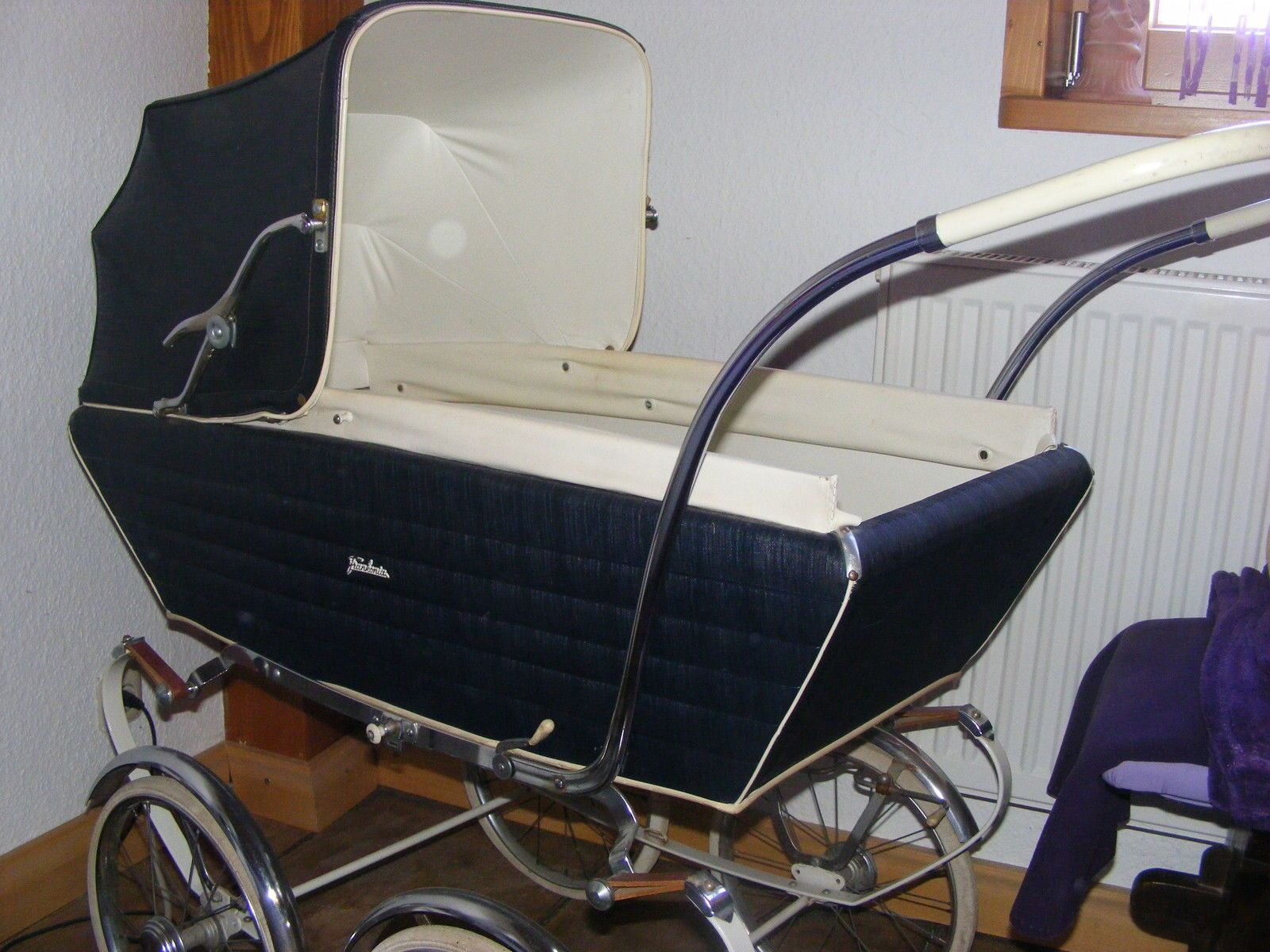 kinderwagen frankonia nostalgie gebraucht in baby. Black Bedroom Furniture Sets. Home Design Ideas