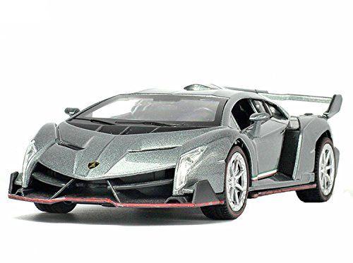 NuoYa001 Grey 132 Lamborghini Veneno sports car Diecast Car Model ...