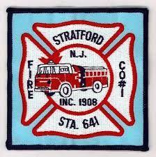 Stratford Station 641 Company 1 Ems Patch Stratford Station Firefighter
