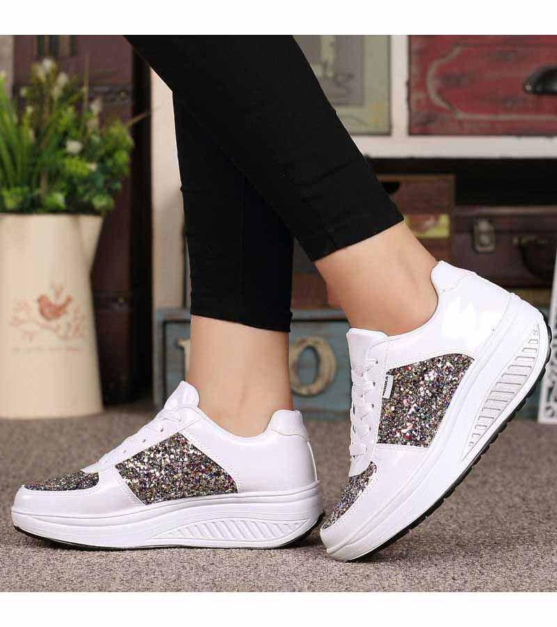 White Pattern Leather Rocker Bottom Shoe Sneaker Rocker Bottom Shoes Tennis Shoe Outfits Summer Lace Up Shoes