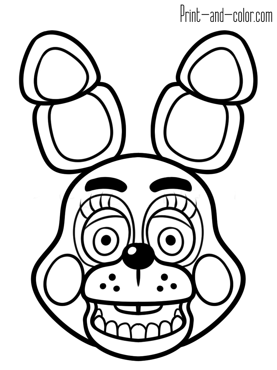 Pretty Ideas Fnaf Coloring Pages Printable Five Nights At Freddy S Print And Color Com Fnaf Coloring Pages Coloring Pages Five Nights At Freddy S