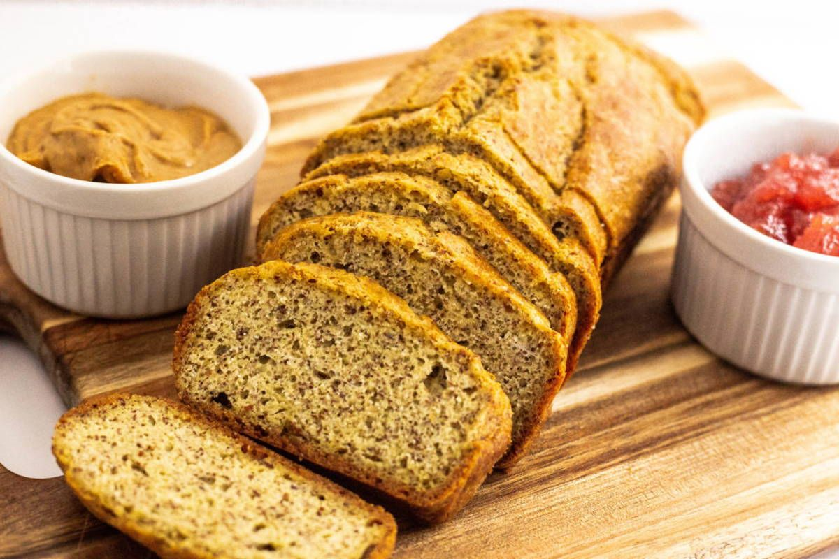 Hosted Site Search Discovery For Companies Of All Sizes Recipe Keto Almond Bread Almond Bread Almond Flour Bread