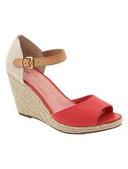18c111fb620 Espadrille wedges