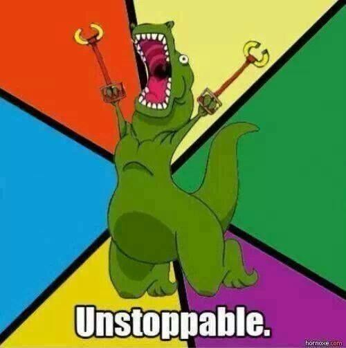 yes t rex had tiny useless arms but then he got these grabbers