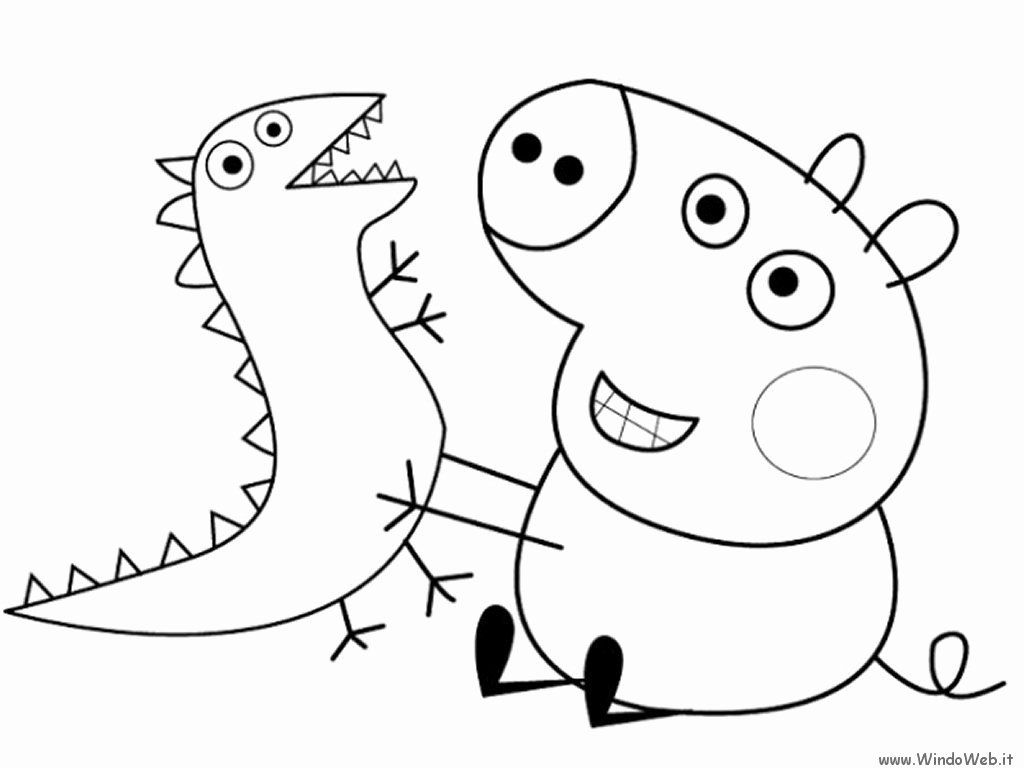 Coloring Pages 90s Cartoons Awesome Nick Jr Coloring Pages At Getdrawings In 2020 Peppa Pig Coloring Pages Cartoon Coloring Pages Dragon Coloring Page