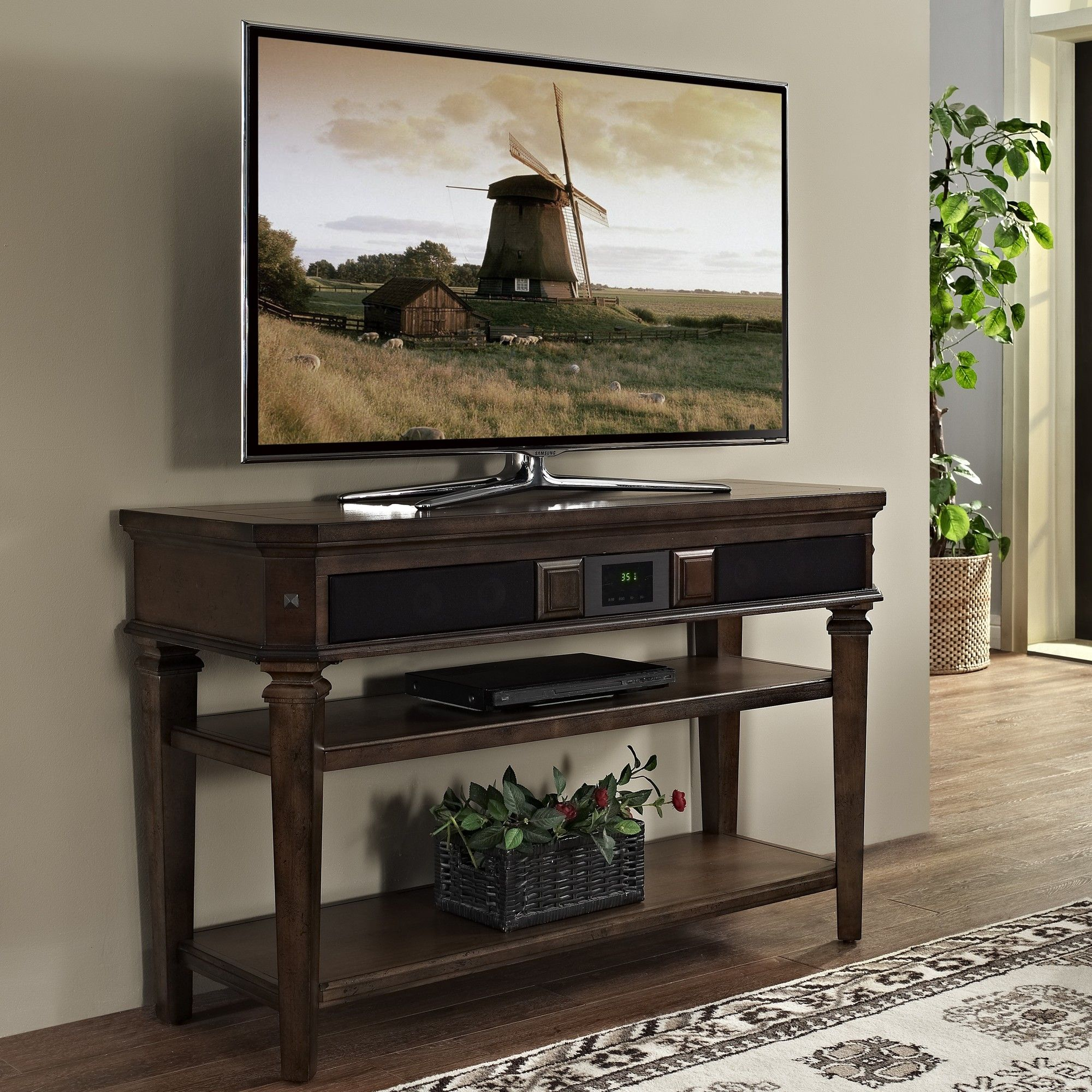 Chelsea 48 Tv Stand With Built In Surround Sound Products