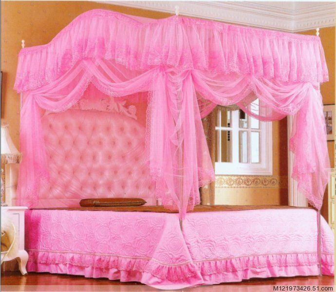 Picture Ideas China Mosquito Net Canopy Beds 3/4 Beds Princess Bed Net Bedding Room  sc 1 st  Pinterest & Pin by Danielle Ren Hertzlieb on Pink | Pinterest | Bed net ...