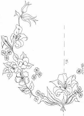 Kurdela Nakisi Sewing Embroidery Designs Hand Embroidery Designs Embroidery Flowers Pattern