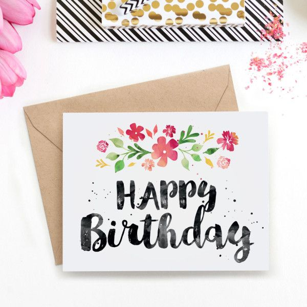 12 easy watercolour painting tutorials for beginners spring surprise her with this beautiful spring blossoms birthday card painted in watercolour download the bookmarktalkfo Gallery