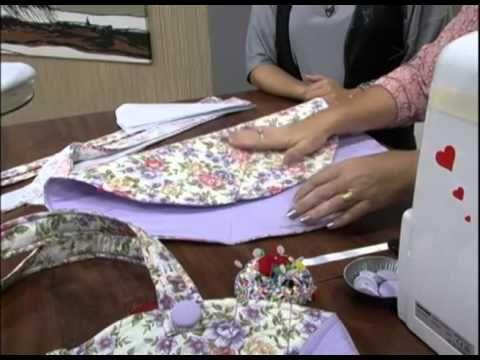Maura Castro – Bolsa fácil patchwork | Cantinho do Video