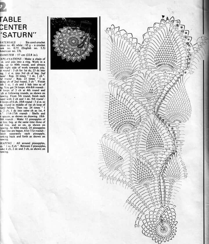 Increíble Patrón Superior Piña Crochet Colección de Imágenes ...