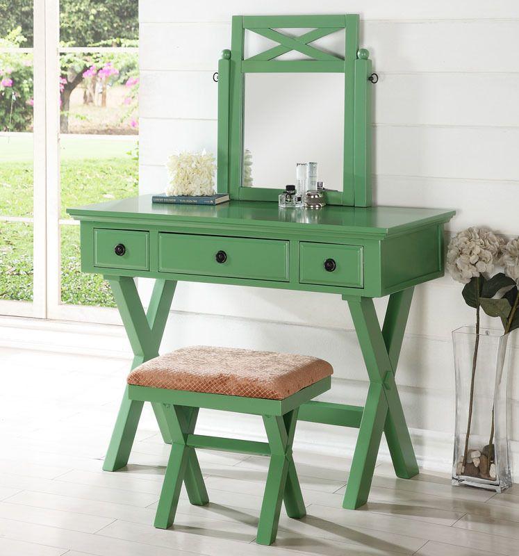 Sensational Pin By Ocfurniture On Makeup Vanity Tables Bedroom Vanity Home Interior And Landscaping Ologienasavecom