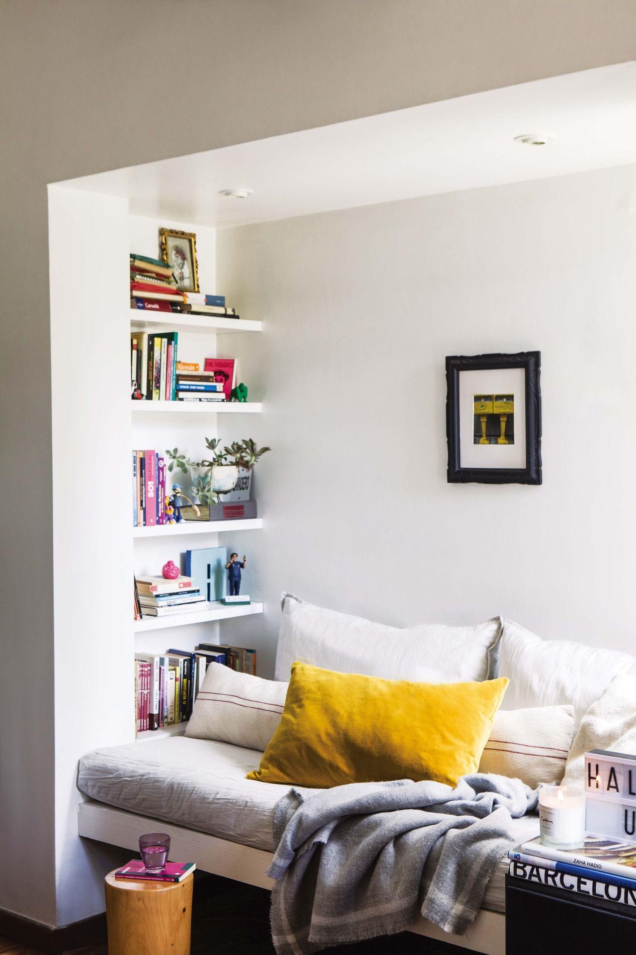 Una Casa Con Base Neutra Y Detalles De Color Decoracion De Interiores Departamentos Decoracion De Interiores Decoraciones De Casa