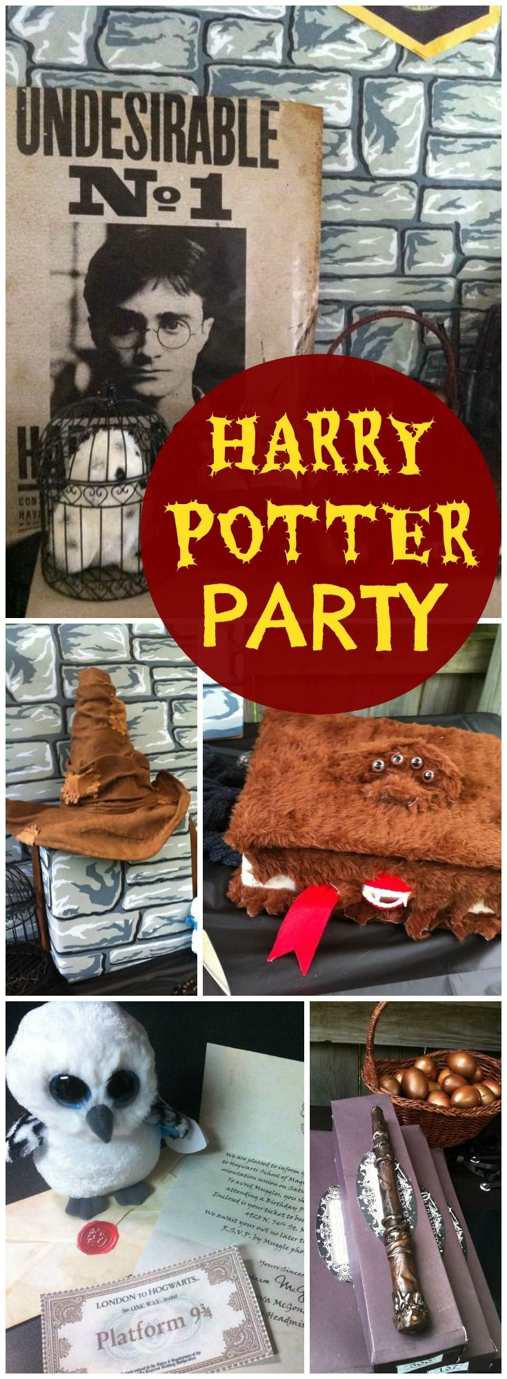 Harry potter birthday jake 39 s magical birthday party harry potter party ideas harry - Harry potter party deko ...
