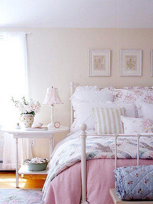 Dedicartes ideias para decorar seu quarto em estilo - Camas estilo romantico ...