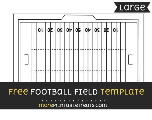 Free Football Field Template