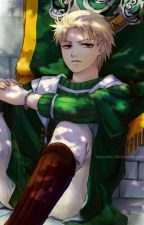 Draco Malfoy x Uke!Foreign!Male Reader - Potions Parteners