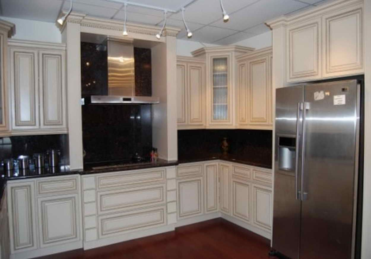 Lowes Kitchen Cabinet Refacing Reviews | Antique white ...