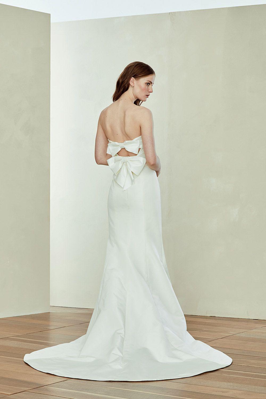 Strapless and backless wedding dress  Rachel