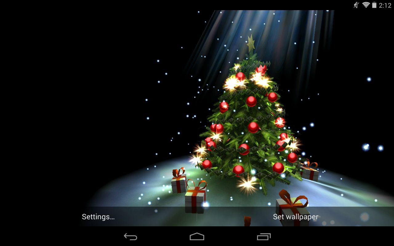christmas live wallpaper apk is a fun app for christmas that will