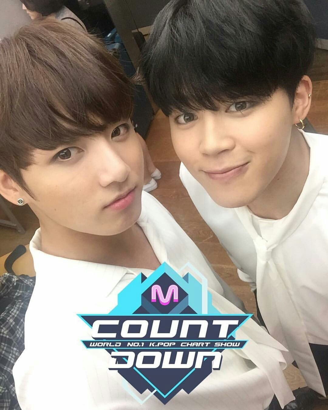 Jungkook & Jimin #comebackstage #MCOUNTDOWN #BUTTERFLY #BTS #방탄소년단