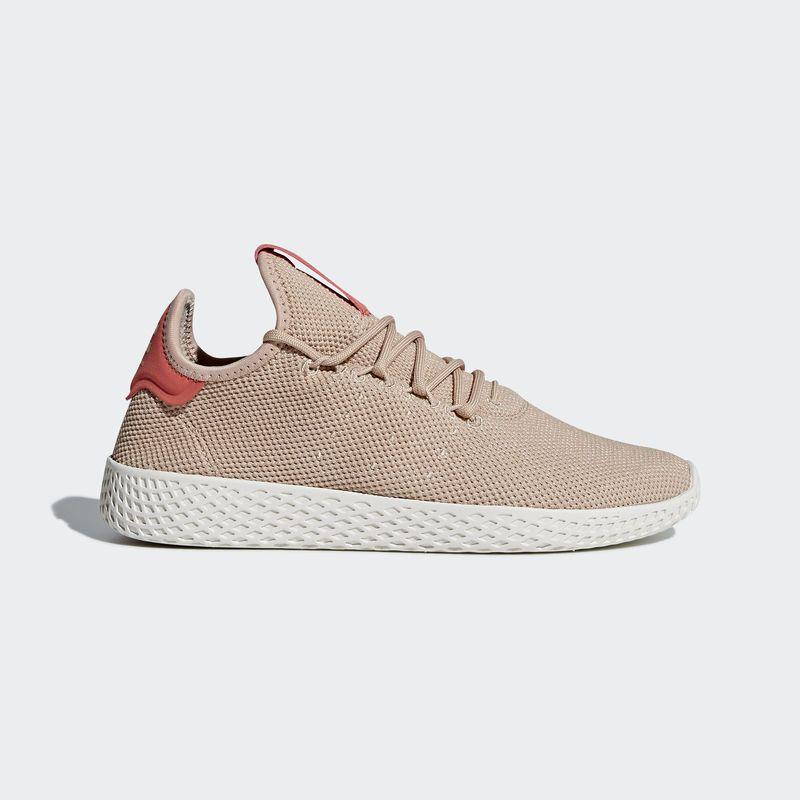 Pharrell Williams x adidas Tennis HU Ash Peach | Zapatos