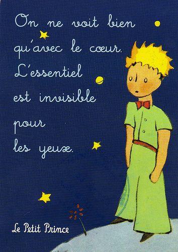 O Pequeno Principe Francês Pinterest Frases El Principito E Citas
