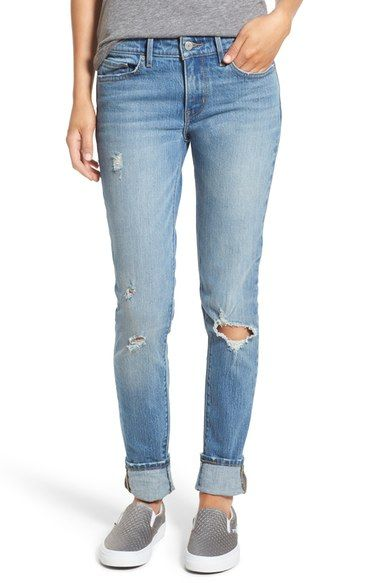dc717b90 Levi's® '711' Skinny Jeans (Goodbye Heart) available at #Nordstrom ...