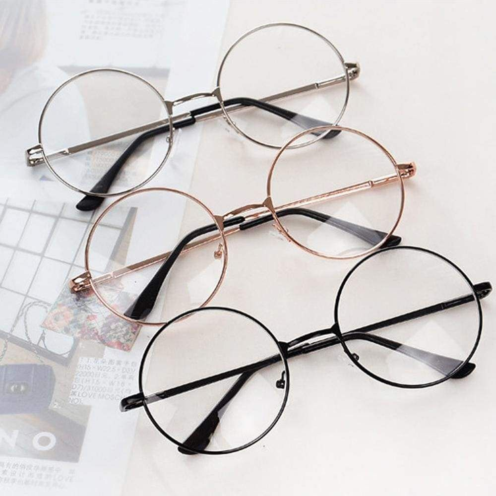 Circle Glasses In 2020 Trendy Glasses Metal Frame Glasses