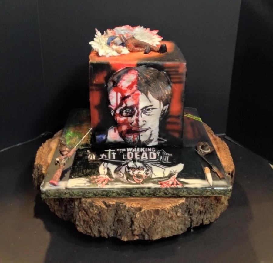 Twd Dead Wedding Cake Topper