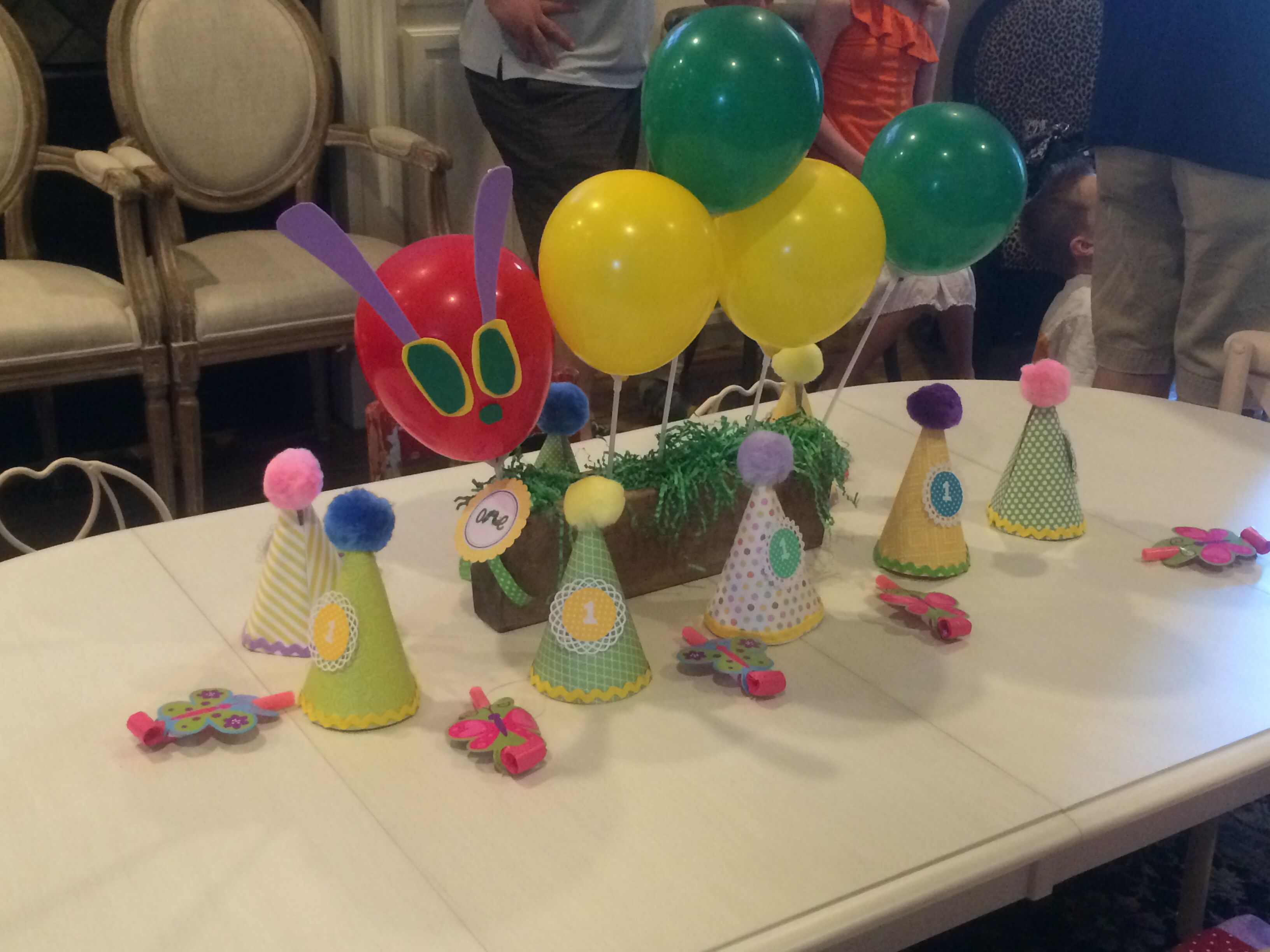 Pin By Suzanne Craig On First Birthday Ideas Very Hungry Caterpillar Hungry Caterpillar Bday Party