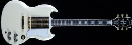 Gibson Custom Shop SG Custom Reissue Classic White Used