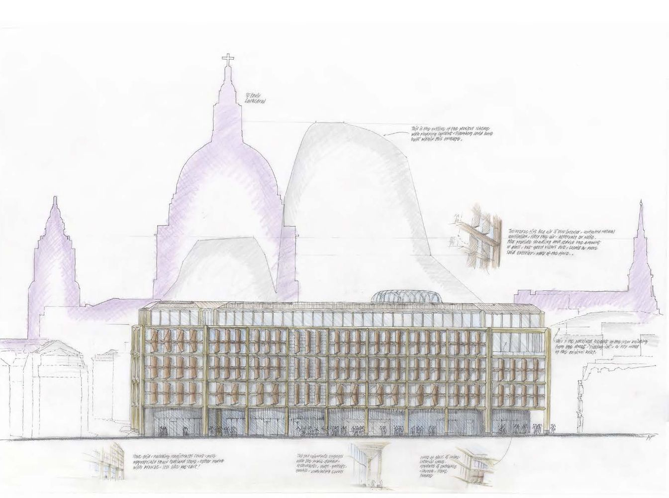 Gallery Of Bloomberg S European Hq Foster Partners 35 Foster Partners Norman Foster The Fosters