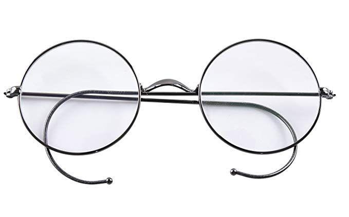 8a4cf70a1d7 Agstum Retro Round Optical Rare Wire Rim Eyeglass Frame 49mm (Without Nose  Pads) Review