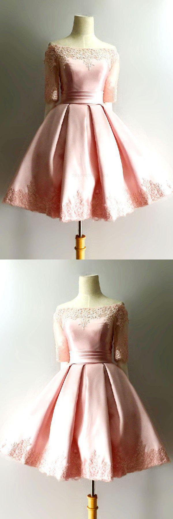 Lace prom dresses short prom dresses prom dresses pink