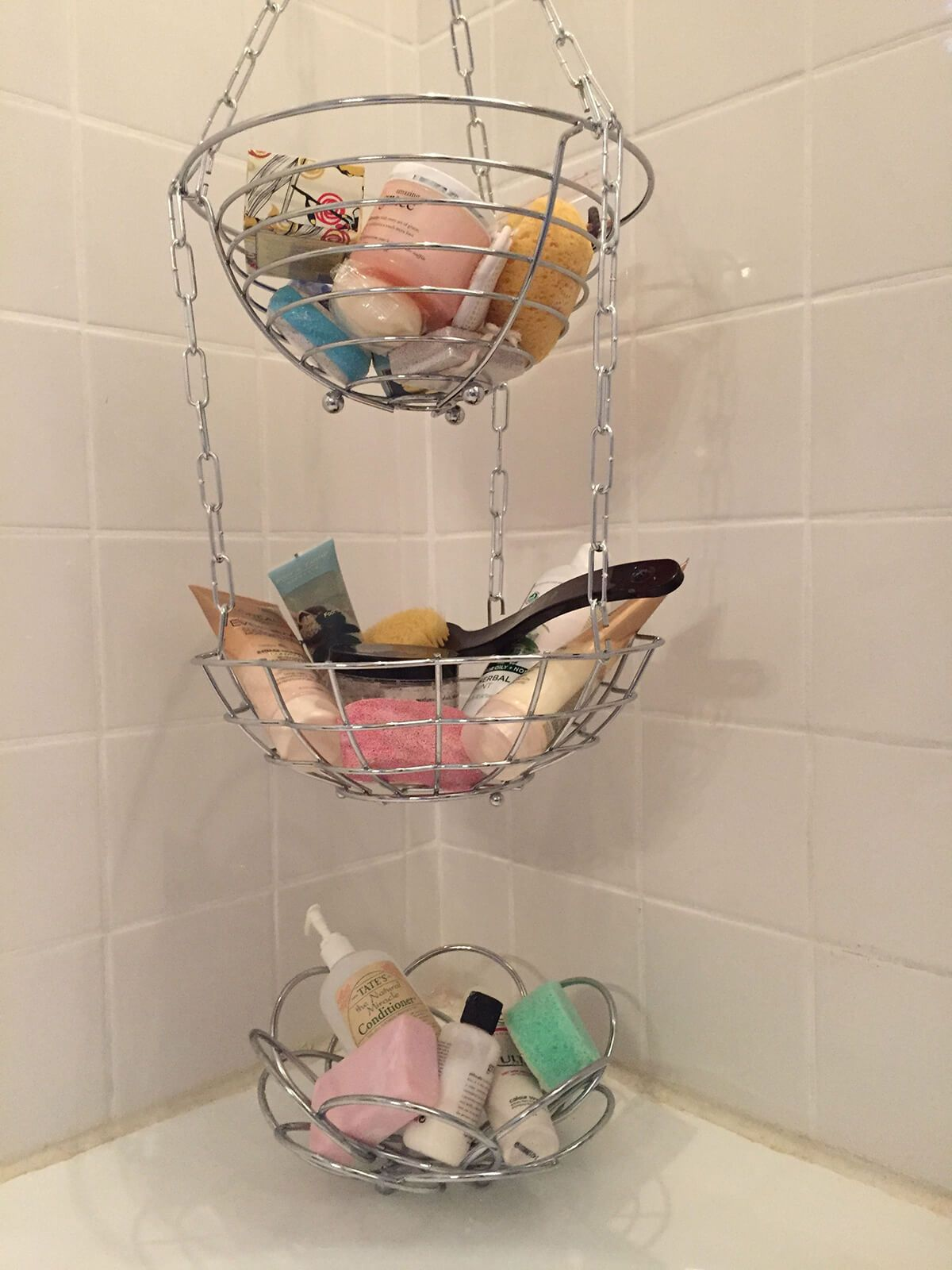 Mini Bathroom Reno Neutral Bathroom Decor Diy Bathroom Storage Bathroom Baskets