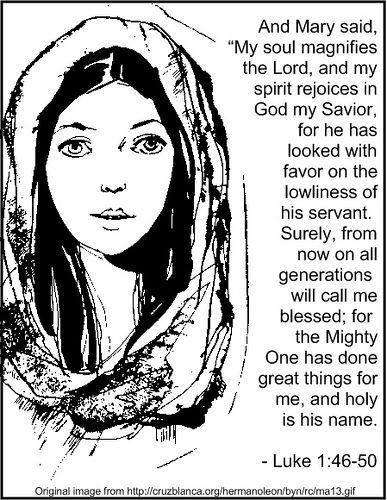 Luke1 46:55