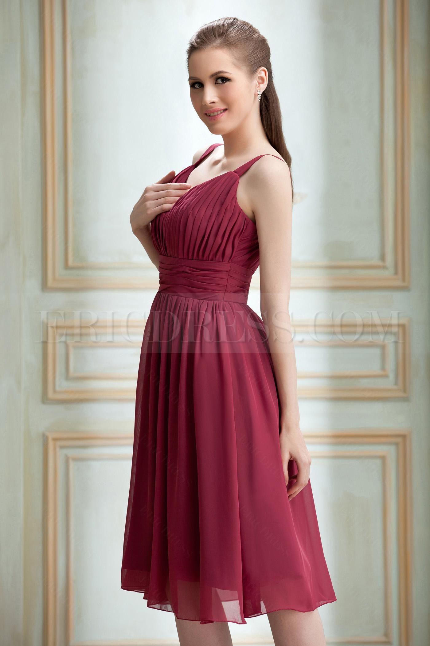 Elegant aline vneck kneelength nadyaus prom dress dress elegant