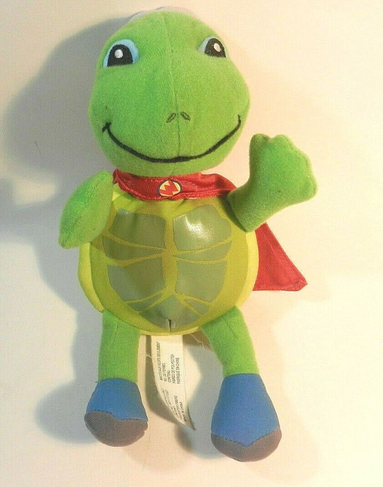 Wonder Pets Tuck The Turtle Plush Fisher Price 2008 Stuffed Animal Retired Euc Fisherprice Wonder Pets Turtle Plush Plush Stuffed Animals