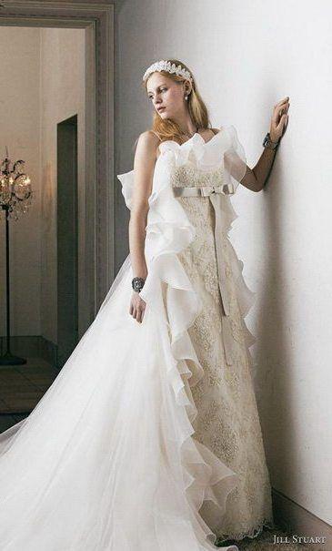 Unique Strapless jill stuart bridal   Clothes- Wedding Dresses ...