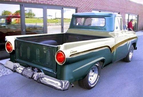 1957 Ford F 100 Custom Cab Concept Ford Trucks Classic Trucks Ford Truck