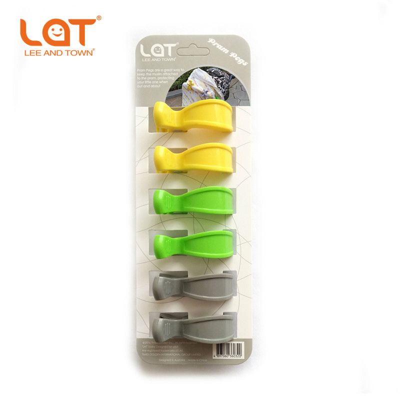 Stroller Pram Pegs Clips To Hook Muslin and Toys Car Seat Cover clips Organizer