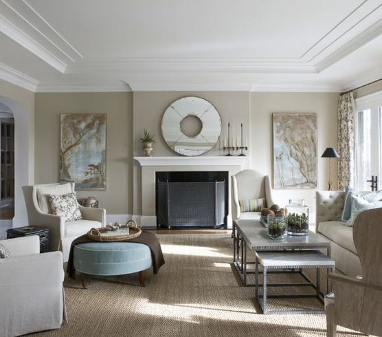 Paint Ponder Stony Ground Eclectic Living Room Hgtv Living Room Design Dining Room Makeover