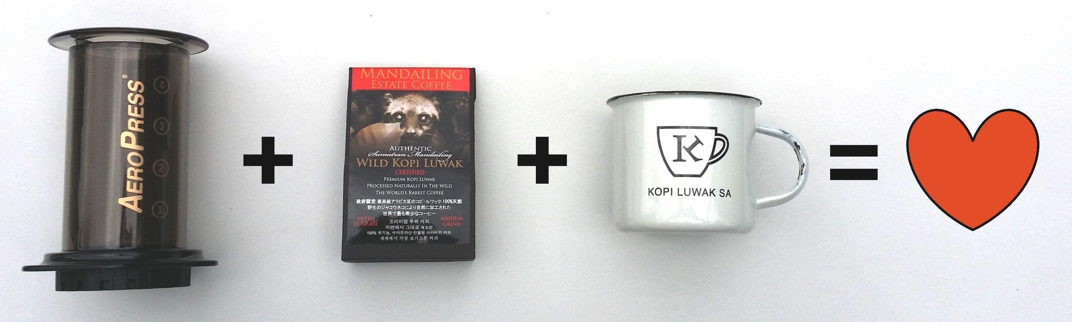 A Perfect Match! Perfect match, Kopi, Aeropress