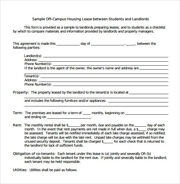 Leasing Agreement Pdf template Pinterest Pdf and Template