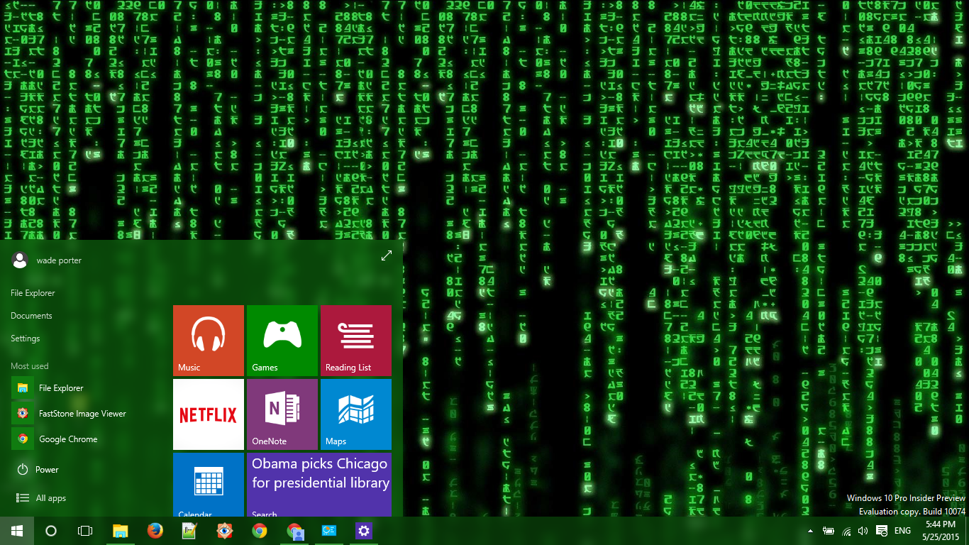 Matrix Windows 10 Theme - themepack me | Matrix | The matrix movie