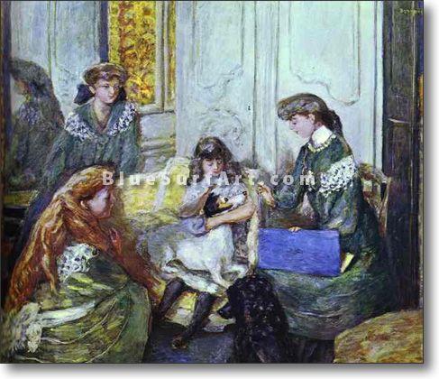 Natanson Girls - £124.99 : Canvas Art, Oil Painting Reproduction, Art Commission, Pop Art, Canvas Painting