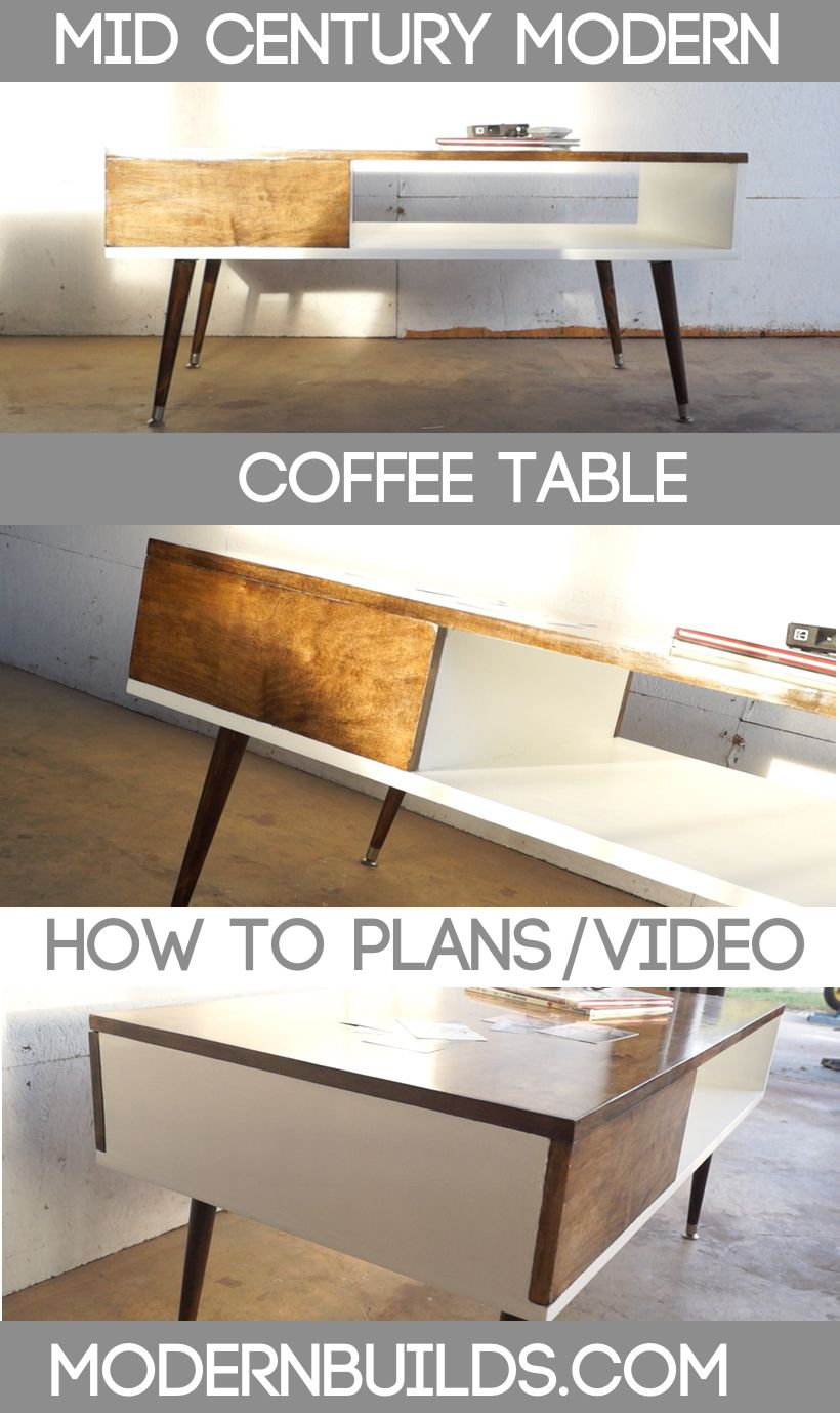 Mid Century Modern Coffee Table Modern Builds Modern Coffee Table Diy Mid Century Modern Coffee Table Coffee Table [ 1378 x 820 Pixel ]