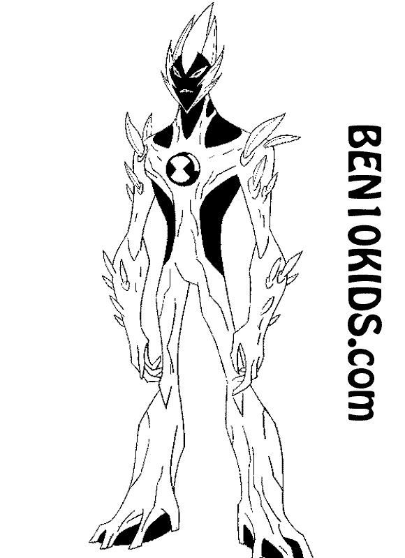 ben coloring pages alien force dudeindisneycom - Ben Coloring Pages Alien Force